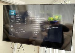 "1 x Hisense 50"" Flatscreen Television In Black With Remote Control And Wall Bracket"