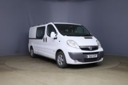 2011 Vauxhall Vivaro LWB 2.0CDTI [115PS] Sportive Doublecab 2.9t Van - CL505 - NO VAT ON THE