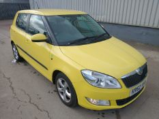 2013 Skoda Fabia Greenline Tdi cr 2.0 5Dr Hatchback - CL505 - NO VAT ON THE HAMMER - Locatio