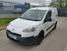 2015 Peugeot Partner 850 proffessional 1.6 HDI 3 Seater Panel Van