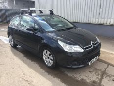 2005 Citroen C4 Vtr plus 1.6 3Dr Coupe - CL505 - NO VAT ON THE HAMM