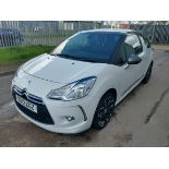 2013 Citroen DS3 Dstyle + E- HDI - CL505 - NO VAT ON THE HAMMER - Location: Corby