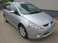 2009 Mitsubishi Granis Elegance Di-D & seater MPV Diesel 2.0 - CL505 - NO VAT ON THE HAMMER - Locat