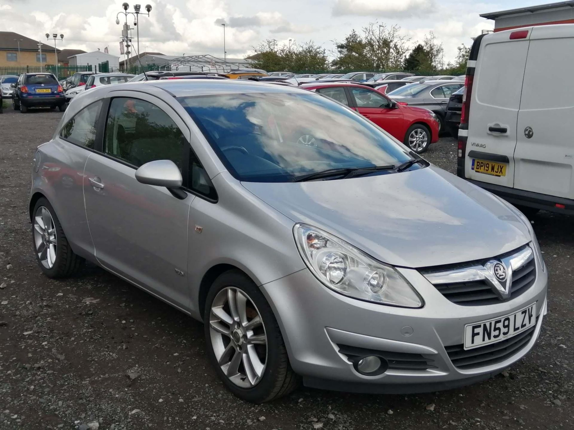 2010 Vauxhall Corsa 1.2 Design 3dr Hatchback - CL505 - NO VAT ON THE HAMMER - Location: Corby
