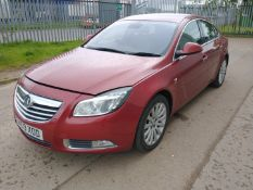 2009 Vauxhall Insignia Elite Nav CDTI 5dr 2.0 Diesel - CL505 - NO VAT ON THE HAMMER - Location: Corb