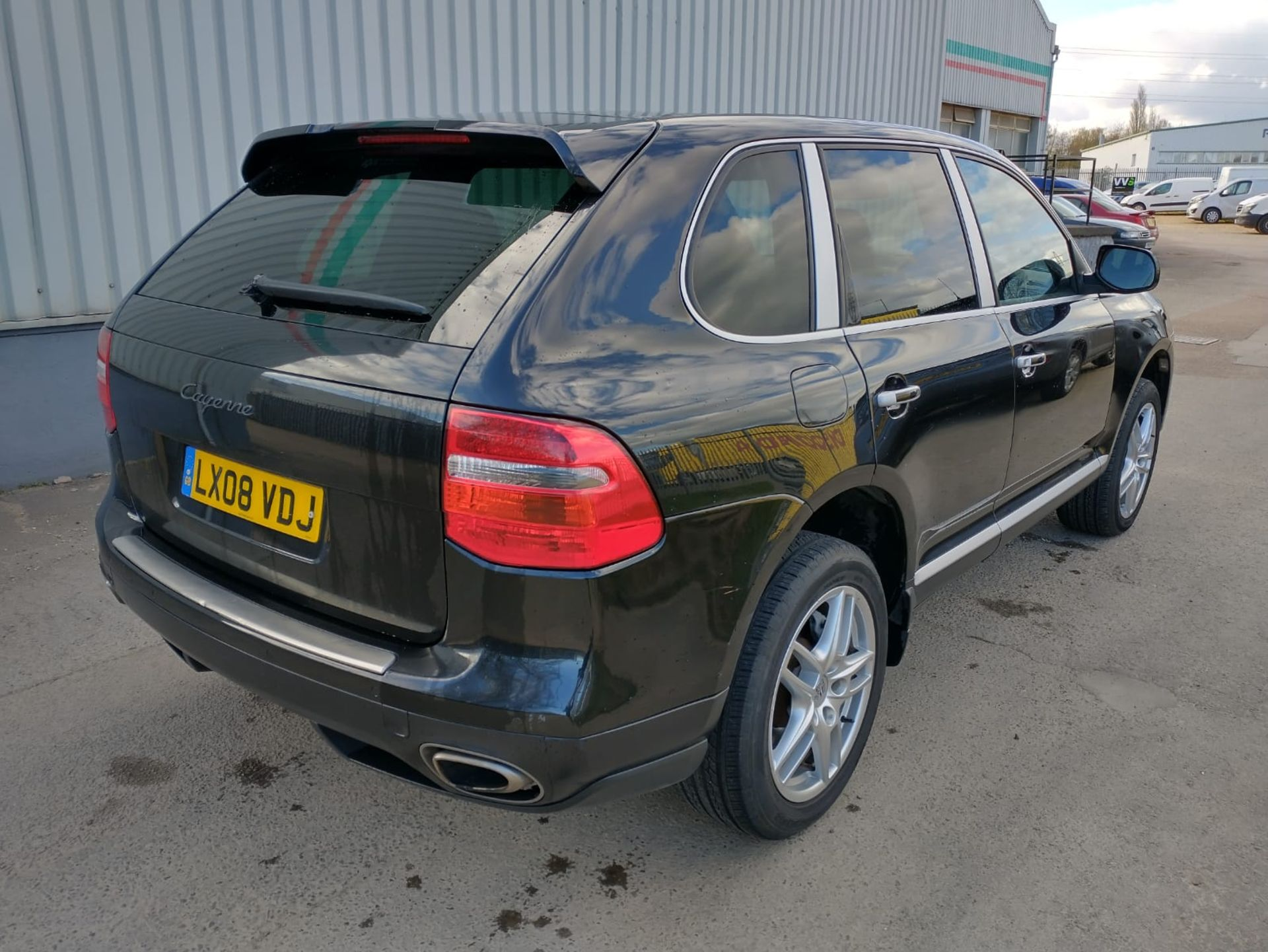 2008 Porsche Cayenne Tiptronic 3.6 5Dr SUV - CL505 - NO VAT ON THE HAMMER - Location: Corby, Northam - Image 8 of 16