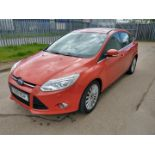 2011 Ford Focus Titanium X TDCI - CL505 - NO VAT ON THE HAMMER - Location: Corby