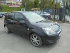 2008 Ford Fiesta 1.25 Zetec Climate 5 dr Hatchback - CL505 - NO VAT ON THE HAMMER - Location: Corby
