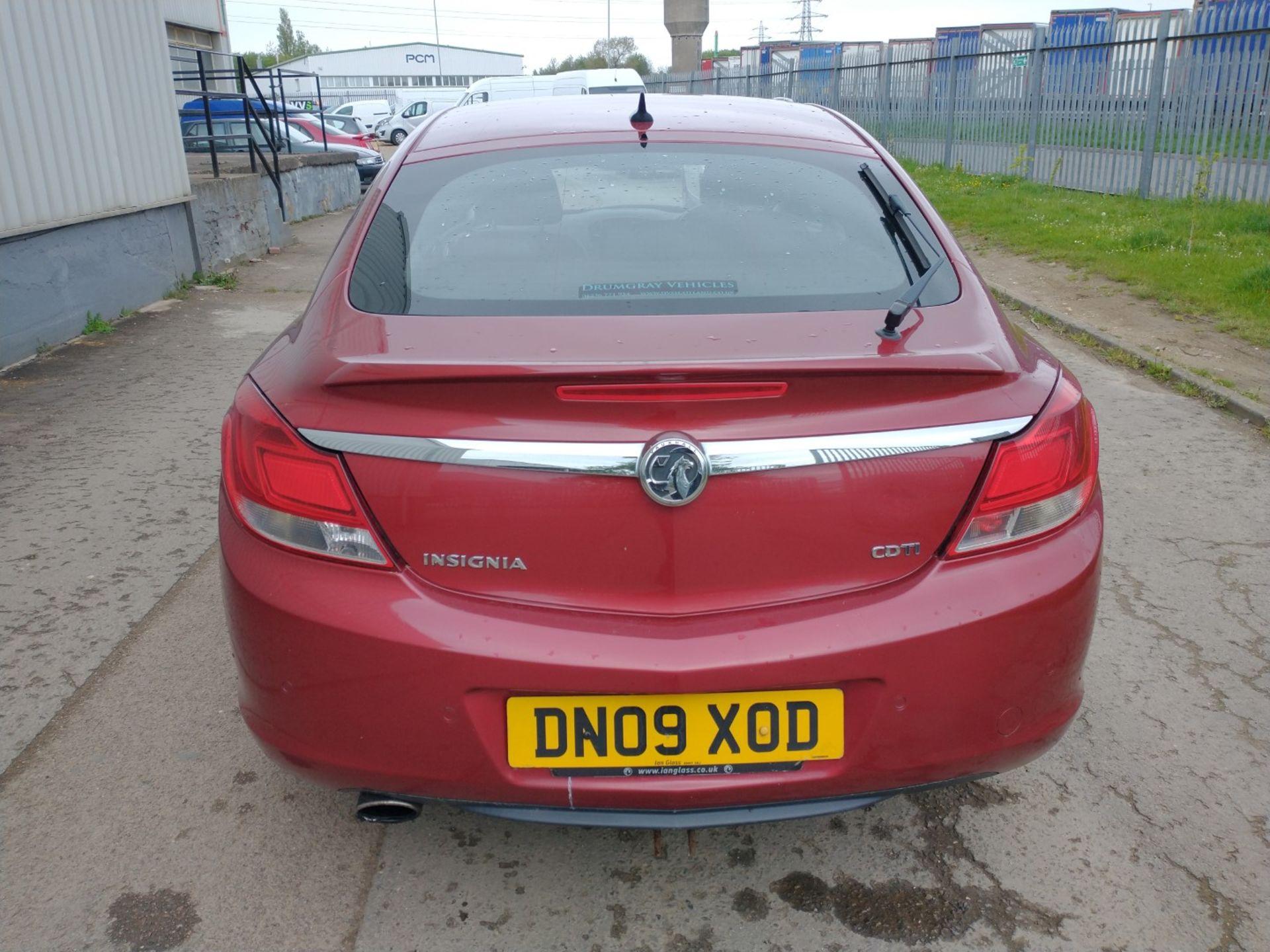 2009 Vauxhall Insignia Elite Nav CDTI 5dr 2.0 Diesel - CL505 - NO VAT ON THE HAMMER - Location: Corb - Image 6 of 22