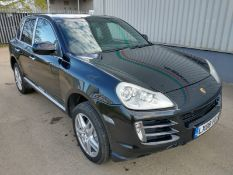 2008 Porsche Cayenne Tiptronic 3.6 5Dr SUV - CL505 - NO VAT ON THE HAMMER - Location: Corby, Northam