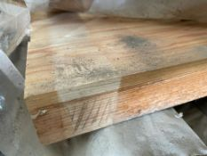 18 x Timber 4x2 Beams / Posts - Length 240cm - Unused Stock - CL616 - Location: Altrincham WA14