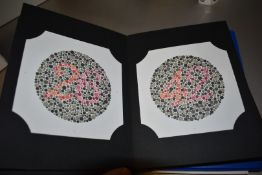 2 x Eye Chart Books Including Ishihara's Tests For Colour Deficiency and Amsler Charts Manual - Ref: