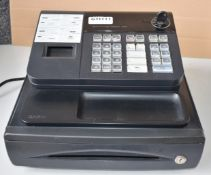 1 x Casio 140CR Electronic Cash Register - Ref: GTI111 - Key Not Included - CL645 - Location: