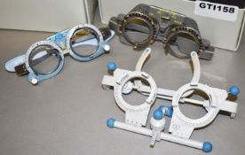 3 x Sets of Opticians Trial Lens Optical Frames - Ref: GTI158 - CL645 - Location: Altrincham WA14