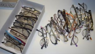 33 x Assorted Pairs of Spectacle Eye Glasses - New and Unused Stock - Various Designs and Brands