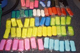 Approx 120 x Spectacle Eye Glasses Cases - New and Unused Stock - Various Designs and Colours