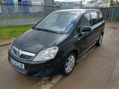 2011 Vauxhall Zafira Elite Cdti 1.7 5Dr MPV