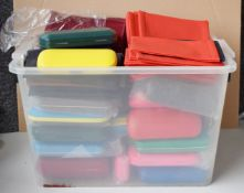 130 x Spectacle Eye Glasses Cases - New and Unused Stock - Various Designs and Colours Included -