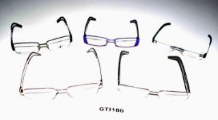10 x Assorted Pairs of Designer Spectacle Eye Glasses - Ex Display Stock - Ref: GTI180 - CL645 -