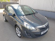 2013 Vauxhall Corsa SXI - CL505 - NO VAT ON THE HAMMER - Location: Corby, Northamptonshire