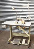 1 xSiruba Overlock Industrial Sewing Machine - Model 747F-514M2
