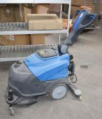 1 x ITC CT30 Walk Behind Battery Powered Floor Cleaner Scrubber/Dryer - Recently Removed From