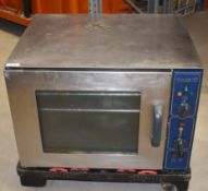 1 x Lincat Commercial Electric 240v Oven With Stainless Steel Exterior -Recently Removed From a