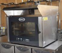 1 x Unox XBC405 Bakery Combi Oven - 3 Phase