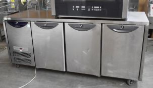 1 x Williams Opal HO3U Triple Door Countertop Refrigerator