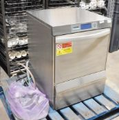 1 x Winterhalter UC-L Commercial Undercounter Glasswasher / Dishwasher with Drain Pump - RRP £4,400