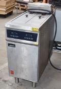 1 x Falcon E422F Twin Basket Programmable Electric Fryer - RRP £4,900 - Dimensions: H100 x W40 x D84