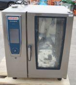 1 x Rational SCC WE 101 Combi Oven - Dimensions: H104 x W85 x D77 cms - Ref 667 WH2 - CL653 -