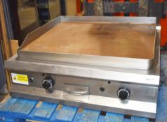 1 x Hobart Commercial Gas Powered Solid Top Cooking Griddle