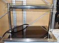 1 x Grundy Drop In Ceran Hot Place With Overhead Warming Light - Model Ceran 2/1 - 240v - Ref