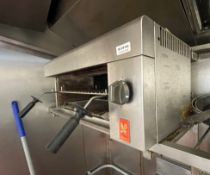 1 x Falcon Wall Mounted Gas Fired Salamander Grill - Ref: BLVD164 - CL649 - Location: London