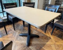 5 x Commercial Bistro Dining Tables In Various Shapes And Sizes *Please Read Full Description*
