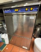1 x Nelson Undercounter Glass Washer With Stainless Steel Exterior - Model SC45AWS-11 - 240v Power -