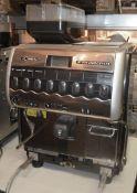 1 x LA CHIMBALI S54 Dolcevita Commercial Coffee Machine - Dimensions: H80 x W51 x D60cm