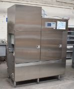 1 x Winterhalter MTR Multi Tank Rack Conveyor Passthrough Dishwasher - Original RRP Approx £16,000 -
