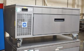 1 x Adande VCS Chef Base Chiller Drawer Uit With Side Engine, Solid Worktop for Appliances and