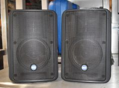 2 xRCF 175-Watt Two-Way Compact Monitor Speakers - Model Monitor 55 - RRP £246 - Ref: JP11/JP12 -