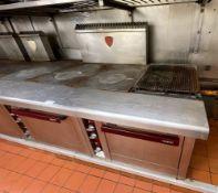2 xPaul Charvet CharavinesTarget Griddle Range Cookers - Gas Fired - Ref: BLVD169 /170 - CL649 -