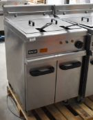 1 xLincat Opus 700 OE7113 Single Large Tank Electric Fryer With Built In Filteration - 240V / 3PH