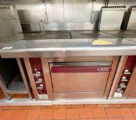 1 xPaul Charvet CharavinesTarget Griddle Range Cooker - Gas Fired - Ref: BLVD167 - CL649 -