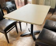 3 x Rectangular Bistro Dining Tables - Various Sizes - Ref: BLVD114 - CL649 - Location: London W8 *