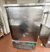 1 x Caravell By Friulinox Blast Chiller With Stainless Steel Exterior - 240v Power - Ref: