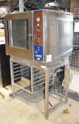 1 x Lainox Combi Oven With USB Socket and 90 Programs - RRP £4,400 - Comes With Stand - 400v 3 Phase