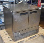 1 x Williams H10CT-WB Countertop Two Door Refrigerator