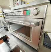 1 x Commercial Microwave Oven - Ref: BLVD160 - CL649 - Location: London W8This item is to be removed