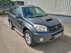 2005 Toyota Rav 4 Xt-R D-4D SUV 2.0 Diesel - CL505 - NO VAT ON THE HAMMER - Location: Corby